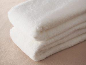 民泊清掃 きれいなタオル