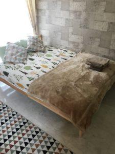 民泊清掃ベッド